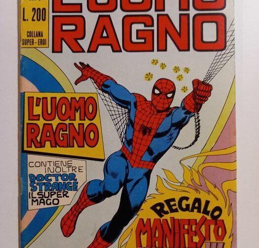 L'uomo ragno Corno collana super-eroi fumetto: valutazione, vendita acquisto e numeri chiave